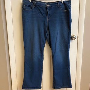 2/$15 or 3/$20- Style & Co bootcut denim
